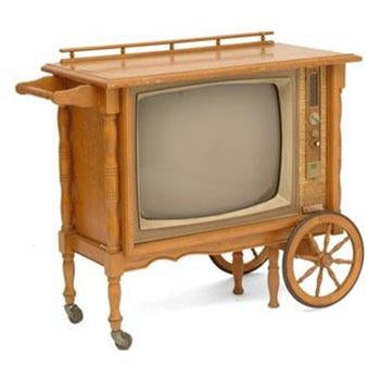 Packard Bell Tea Cart TV