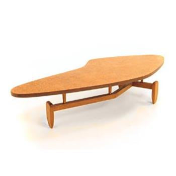 Organic Wood Coffee Table