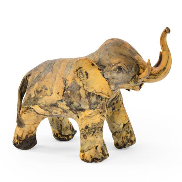 Yellow Marbled Elephant
