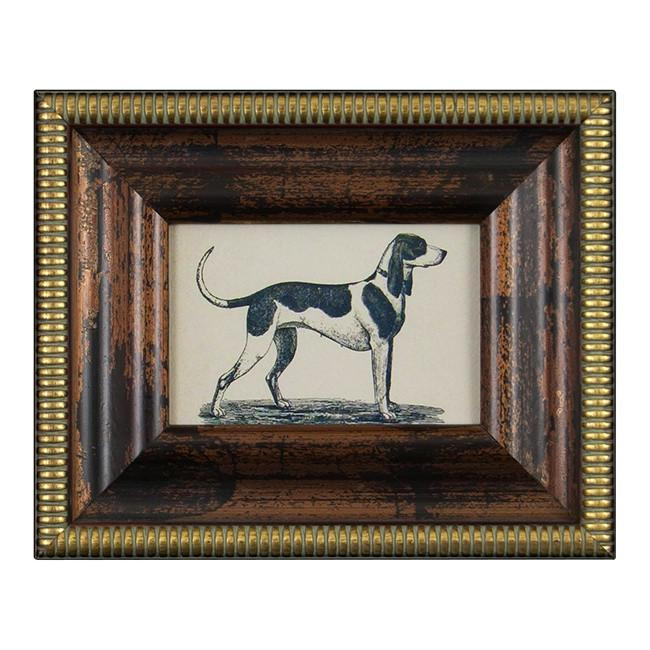 "BFA 100-188 Dog Wood Gold Frame (10.5"" x 8.5"")"