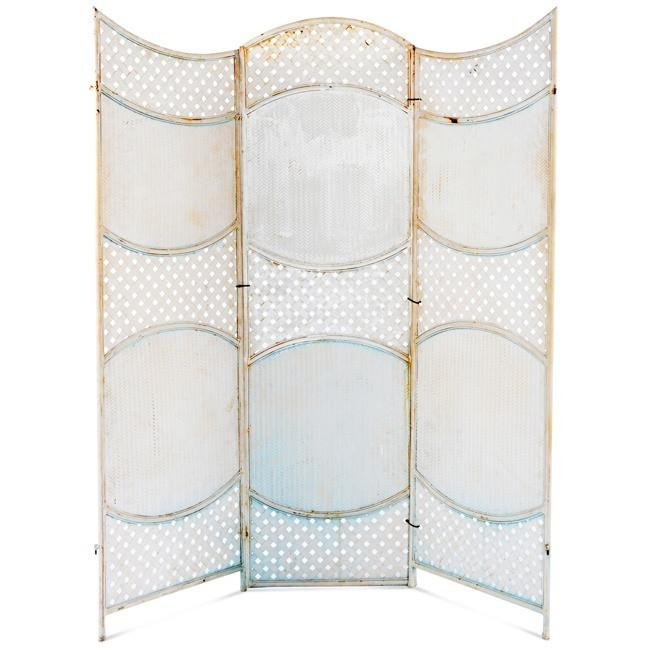White Vintage Three - Section Screen