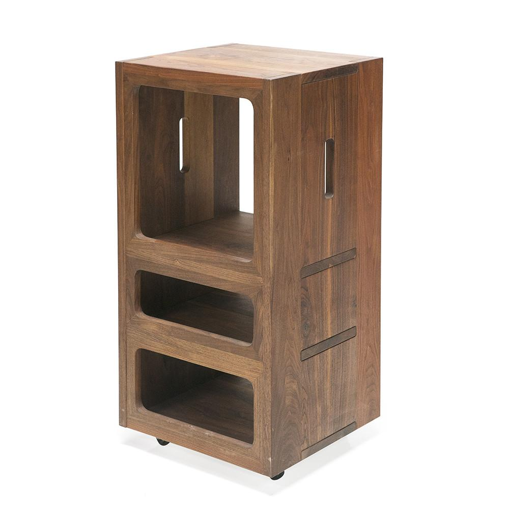 Wood Shelf Unit on Caster