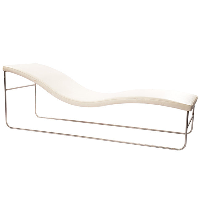 Floating Chaise - White