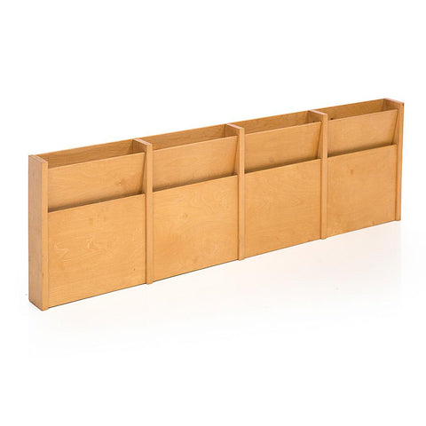 Wooden Magazine Holder