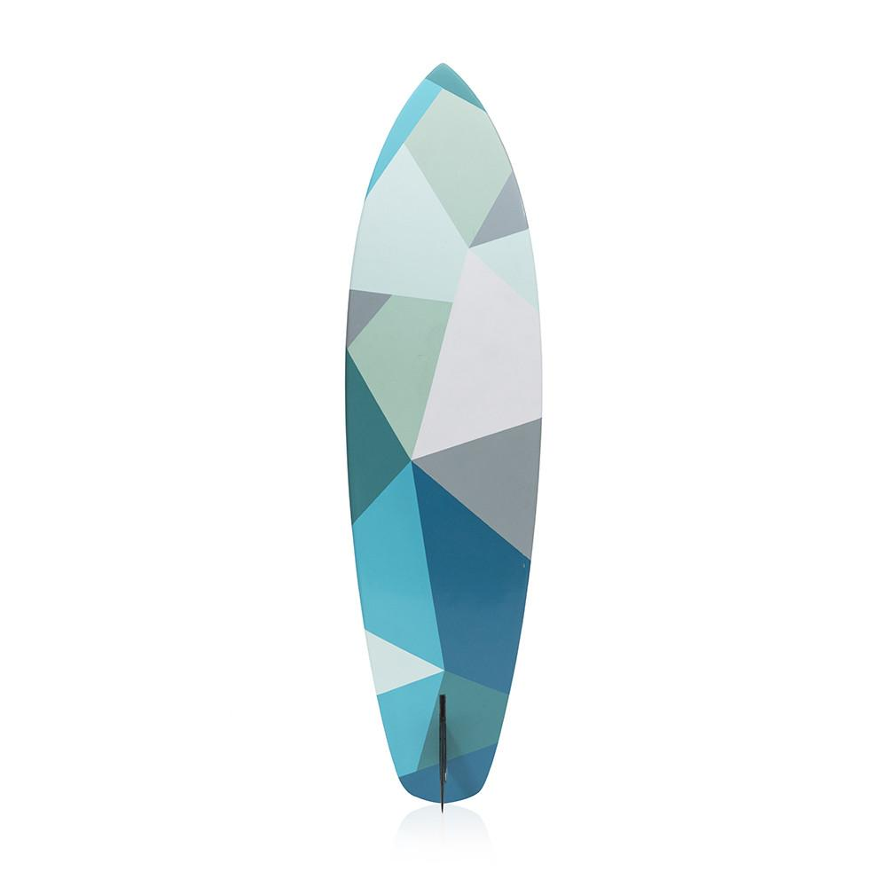 Blue Checked Surfboard