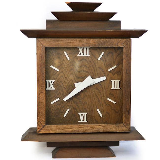 Wood Clock - Stepped