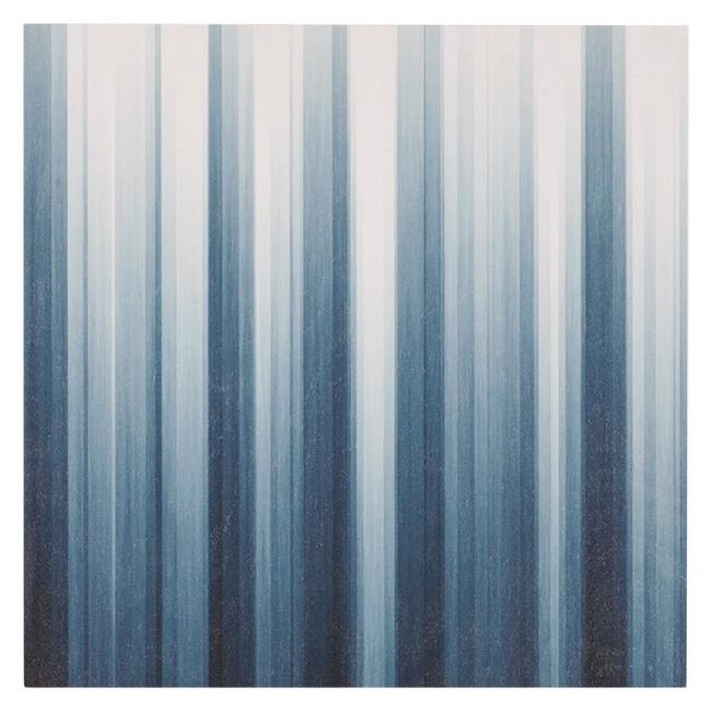 "100-387 Blue & White Stripes (16"" x 16"")"
