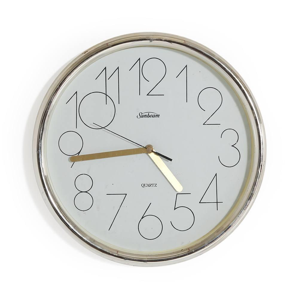 Sunbeam Quartz Wall Clock