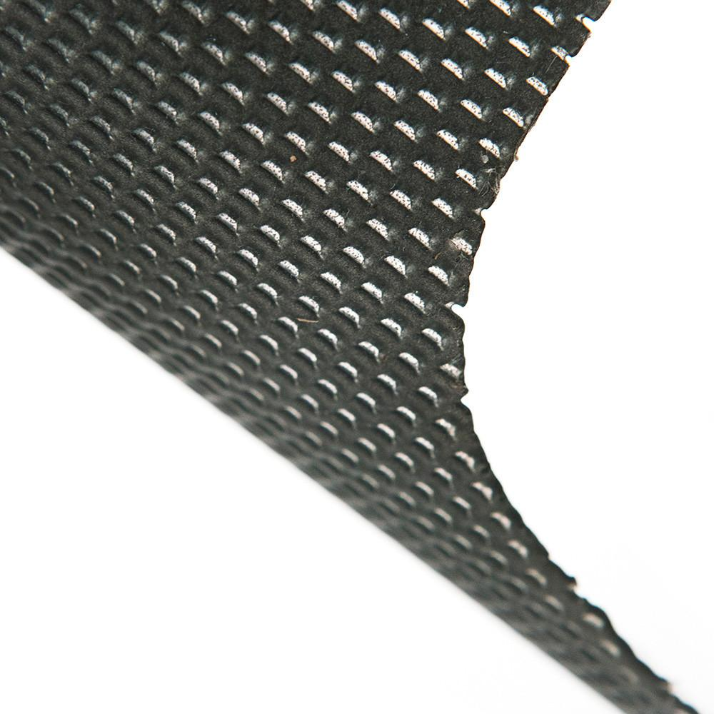 Black Perforated Table Lamp