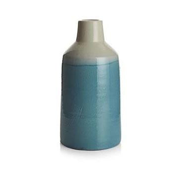 Blue Aqua BFA Ceramic Vase Large