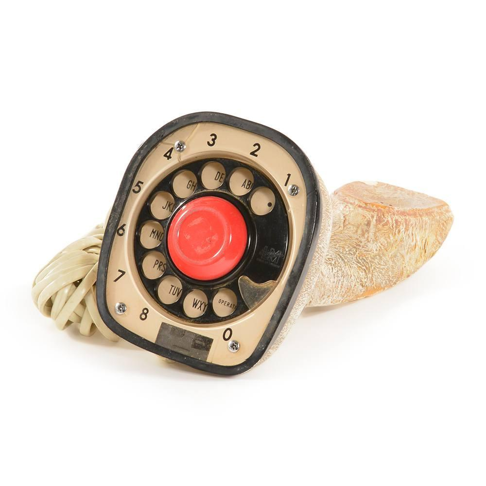 Cobra - Weathered Gold Standing Phone