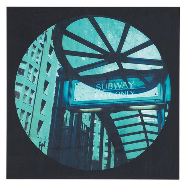 "100-393 City Circle Subway (12"" x 12"")"