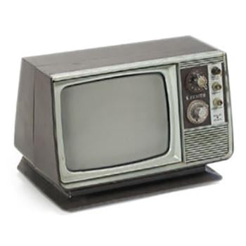 Zenith Solid State Television - Brown