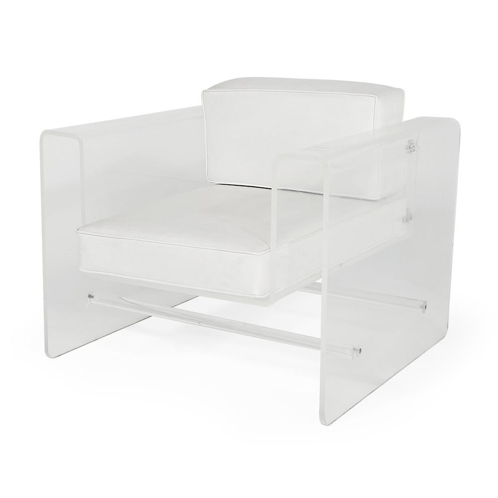 Lucite Box Chair