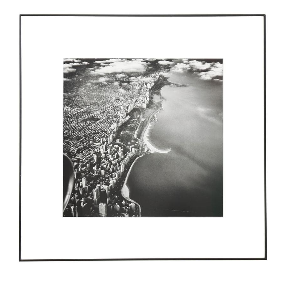 "100-847 Chicago Sky View (16"" x 16"")"