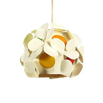 White Abstract Hanging Pendant