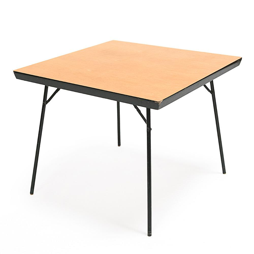 Tan Folding Card Table