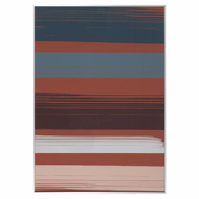 "100-358 Stripes on Orange (28"" x 40"")"