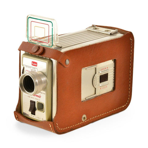 Brownie 8mm Camera with Leather Case