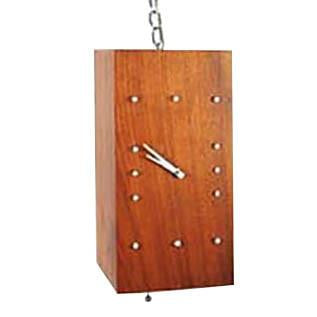 V.H. Woodlums Hanging Wood Clock
