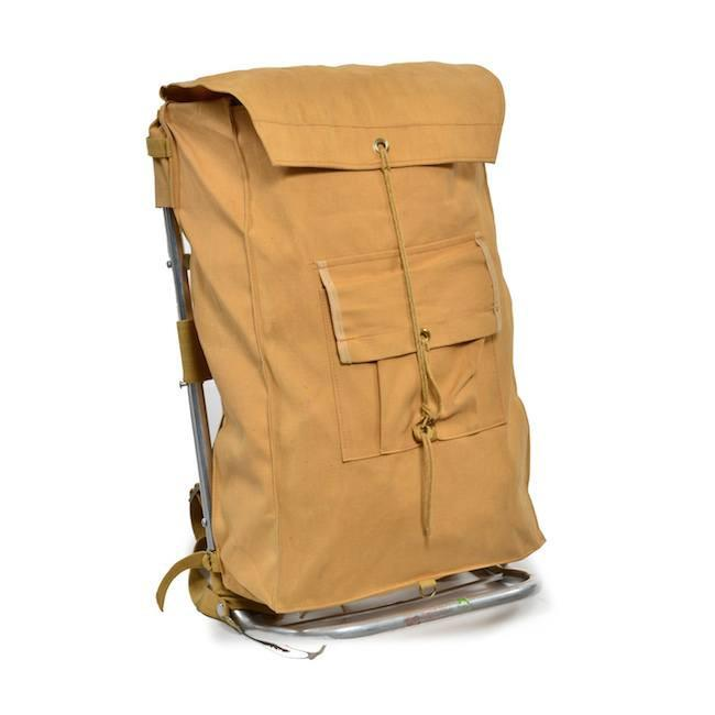 Boyscout Style Day Back Pack - Tan