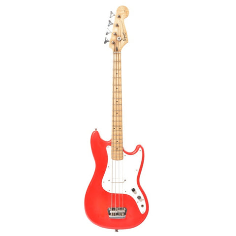Electric Bass - Squire Red