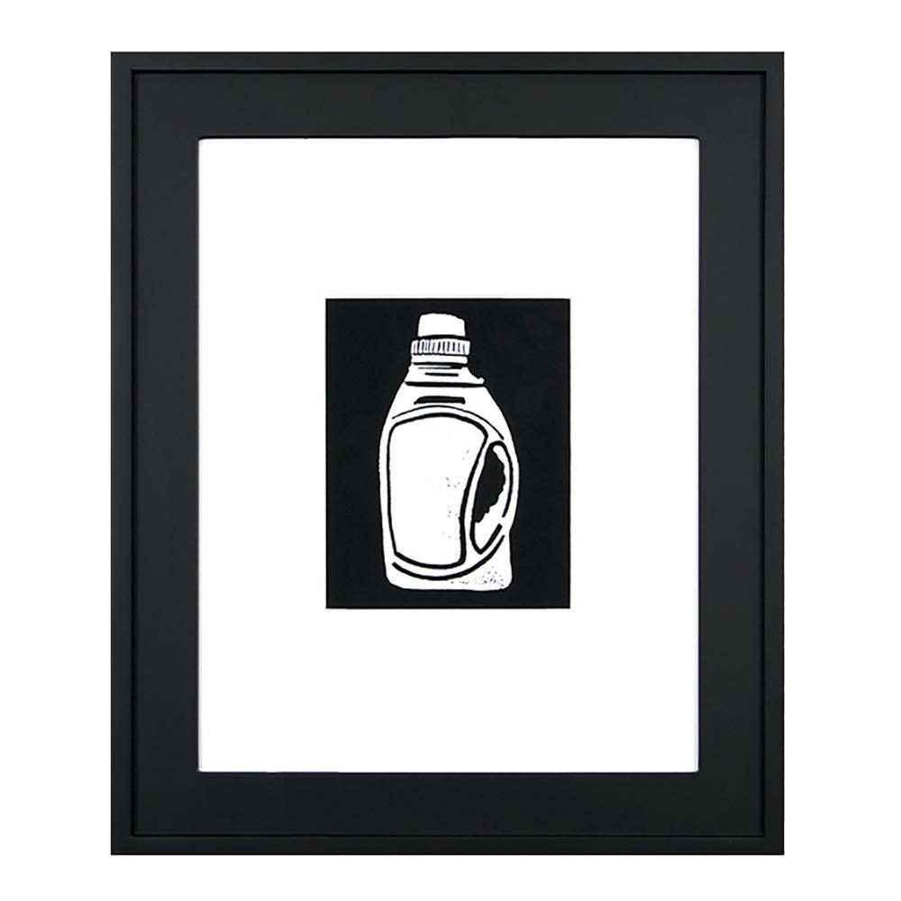 "100-212 Laundry Bottle Woodcut (20.5"" x 25"")"