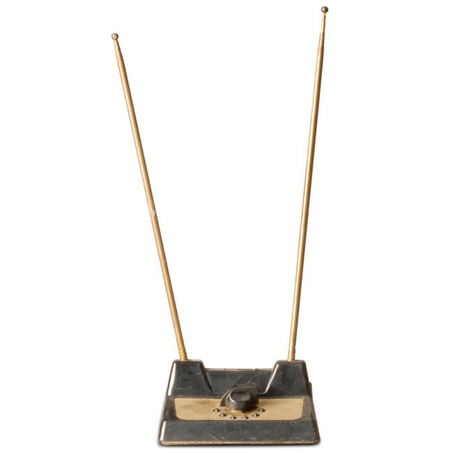 Black and Brass Antenna