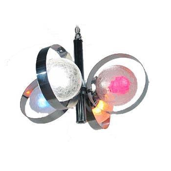 Chrome Round Circle Hanging Lamp