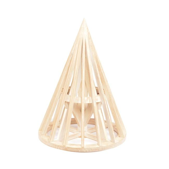Wood Light BFA Belgian Cone Maquette
