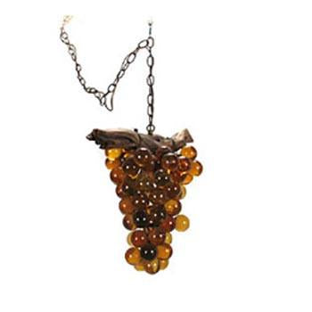Amber Grapes Hanging Pendant Lamp