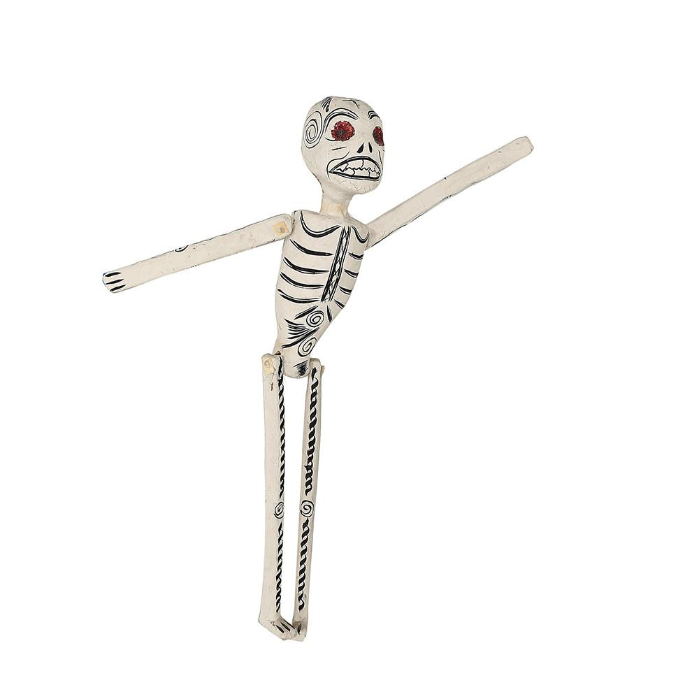 White Skeleton Wall Hanging