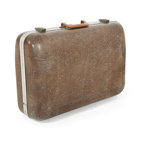 Brown Fiberglass Luggage