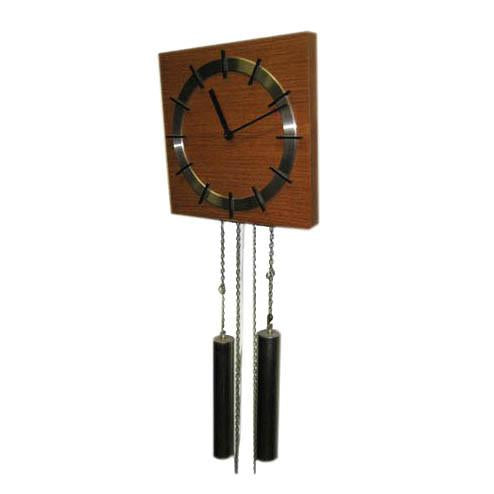 Hanging Wood Clock