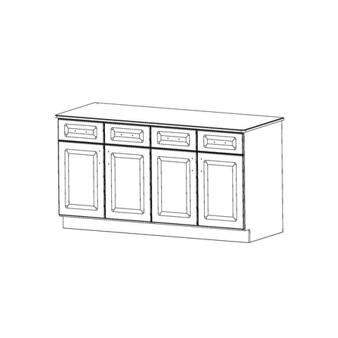 Therapy Cabinets - Shelf - Traditional