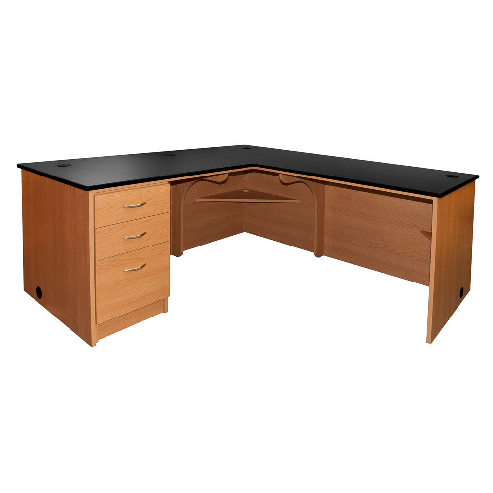 Executive L-Desk LT-Return - Contemporary