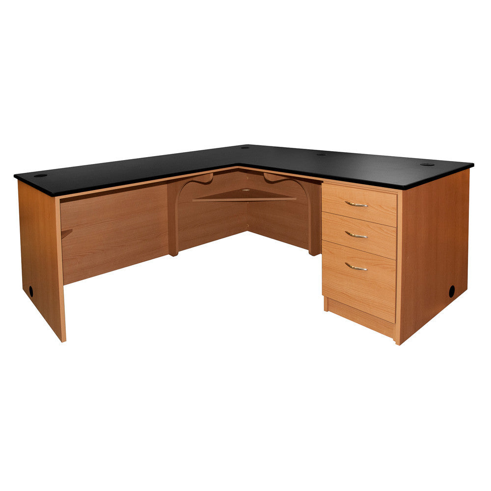 Executive L-Desk RT-Return - Contemporary