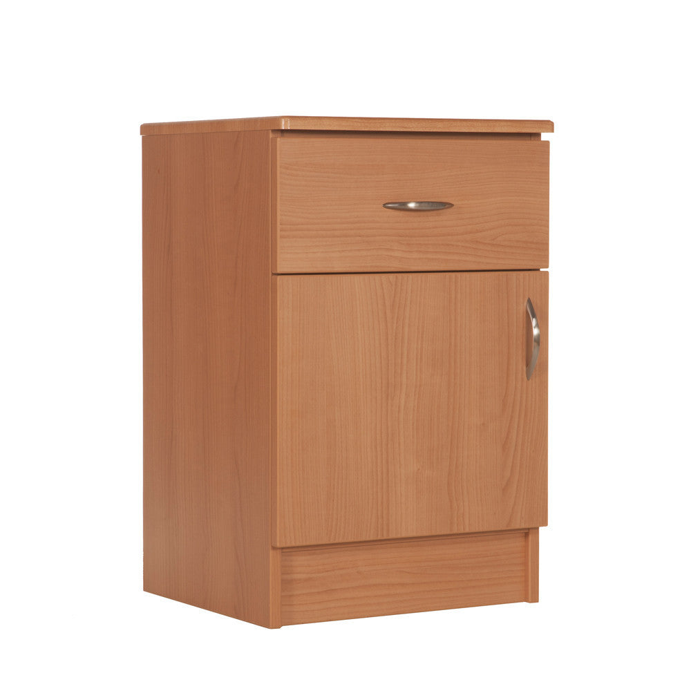 Nightstand - One Door, One Drawer - Contemporary