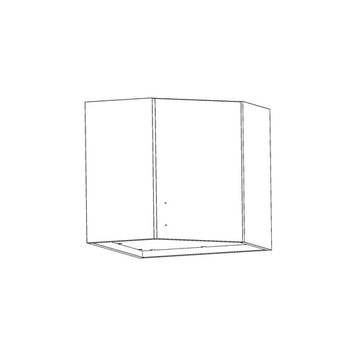 Wall Cabinet - Corner - Contemporary