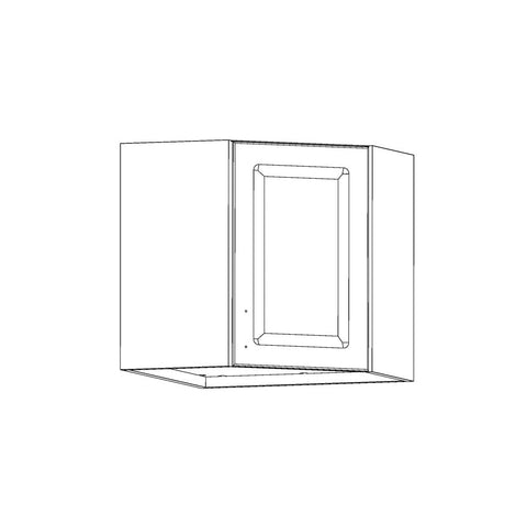 Wardrobe - Two Door, Two Shelf - Traditional