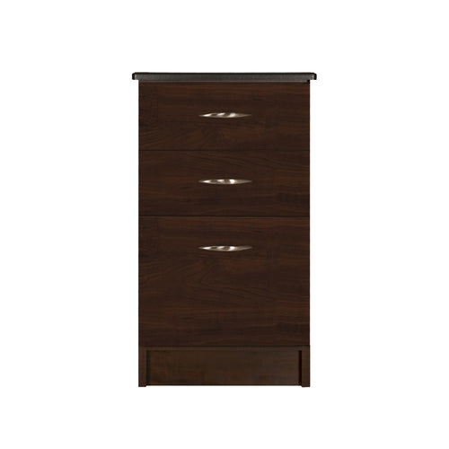 Vertical File - 2 Drawer, 1 File - Contemporary