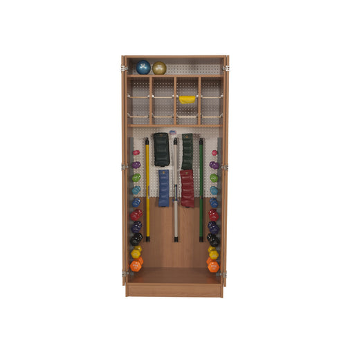 Therapy Cabinets - Weight Storage- Traditional