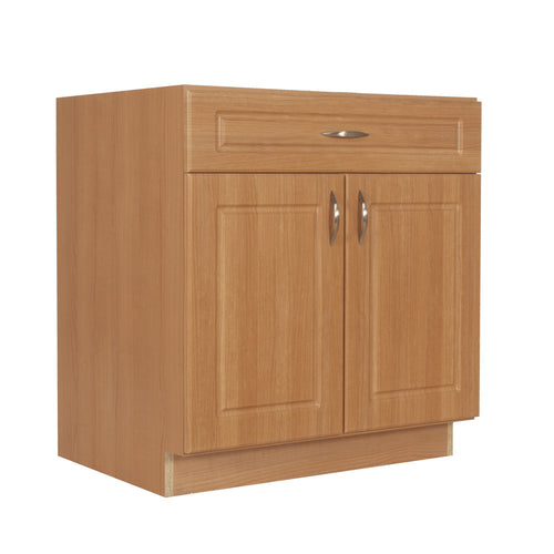 Base Cabinet - 2 Door, 1 Drawer - Traditional