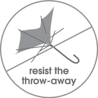 Resist the throw-away