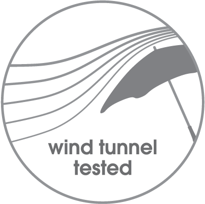 Wind tunnel tested