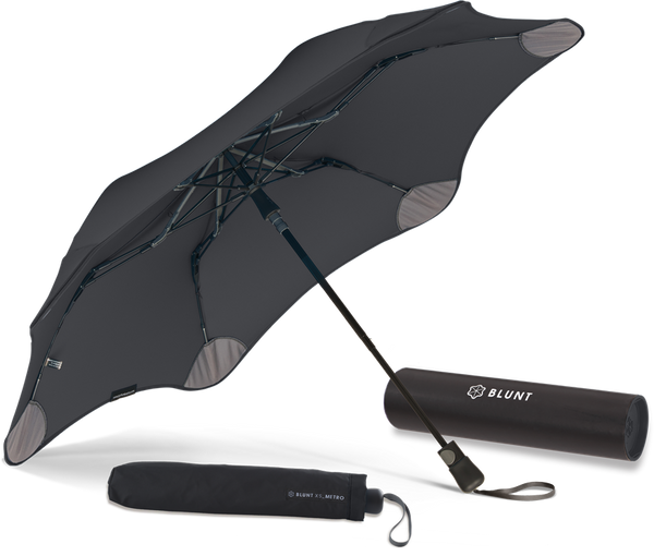BLUNT Metro compact umbrella black