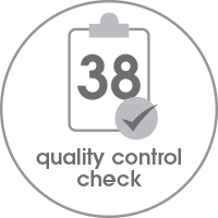 Blunt Umbrella's Quality Control Check Logo