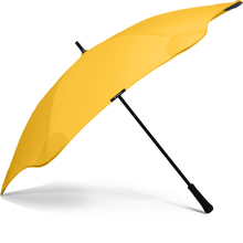 Load image into Gallery viewer, Yellow Classic Blunt Umbrella Side View