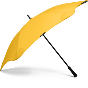 Yellow Classic Blunt Umbrella Side View