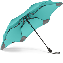 Load image into Gallery viewer, Mint Metro Blunt Umbrella View From Under